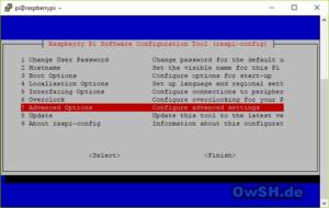 pi advopt 300x190 - Howto: FHEM Server auf Raspberry einrichten