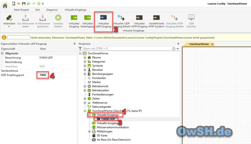 fhem udplox 1 1024x588 - Howto: FHEM mit Loxone erweitern