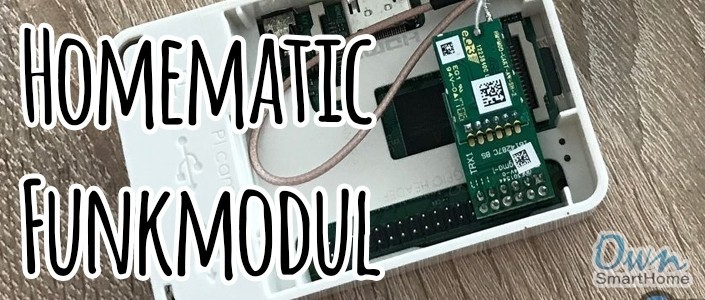 Raspberry Pi Homematic Funkmodul installieren