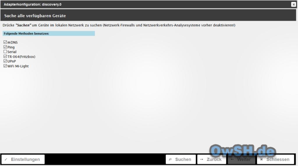 5 iobroker grundeinstellungen2 1024x571 - Howto: ioBroker auf Raspberry Pi installieren