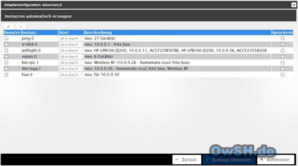 6 iobroker grundeinstellungen3 1024x572 - Howto: ioBroker auf Raspberry Pi installieren