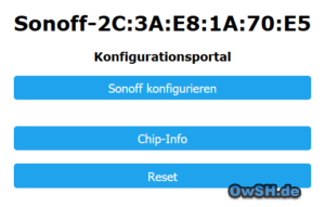 sonoff conf 1 300x191 - Sonoff mit Loxone, Homematic & Alexa nutzen