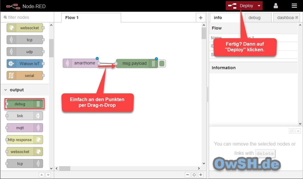 edit broker debug - Tutorial: Installation von Node-Red und Mosquitto