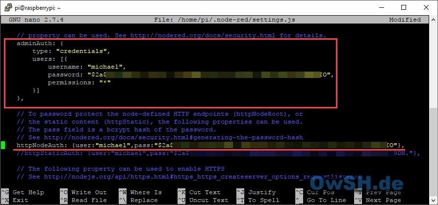 node red admin red config - Tutorial: Installation von Node-Red und Mosquitto