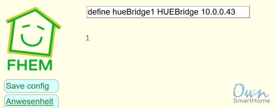 fhem huebridge define