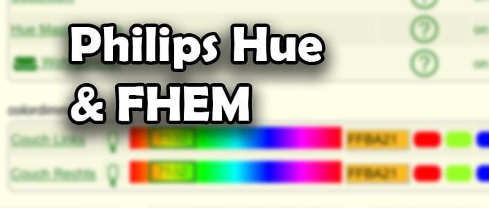 Philips Hue mit FHEM verbinden