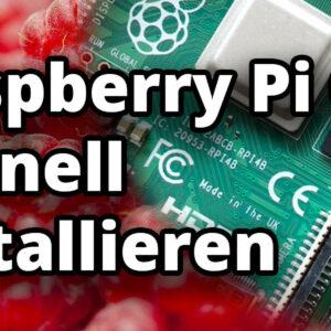 Raspberry Pi OS super schnell installieren