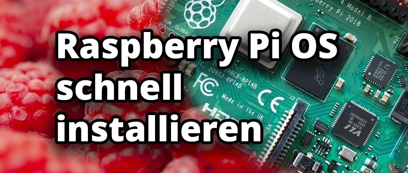 raspberry pi 4 imager installieren einrichten flashen